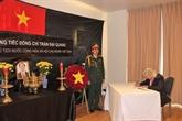 Des cérémonies funéraires à l'étranger en mémoire du président Trân Dai Quang