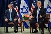 Trump soutient pour la première fois la solution à deux États