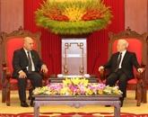 Le secrétaire général Nguyên Phu Trong reçoit une haute délégation cubaine