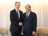 Le PM Nguyên Xuân Phuc reçoit les dirigeants des entreprises américaines