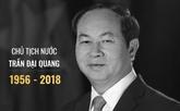 Condoléances de nombreux pays et organisations pour le décès du président Trân Dai Quang