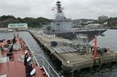 Le navire 015-Trân Hung Dao de la Marine populaire vietnamienne en visite au Japon