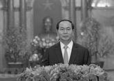 Décès du président Trân Dai Quang: messages de condoléances des pays