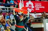 ASIAD 2018: le Vietnam remporte 38 médailles