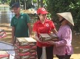 Aide d'urgence de la Croix-Rouge du Vietnam aux provinces touchées par les crues