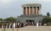 Plus de 38.600 visiteurs au mausolée du Président Hô Chi Minh