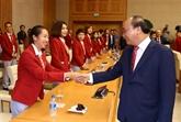 ASIAD 2018: le PM félicite des résultats de la délégation vietnamienne