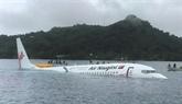 Quatre Vietnamiens à bord de lavion sorti de piste en Micronésie