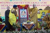 Échange culturel bouddhiste Vietnam - Russie - Inde à Moscou
