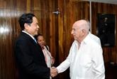Des dirigeants cubains convaincus des perspectives de coopération avec le Vietnam