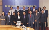 WEF ASEAN 2018: le vice-Premier ministre Pham Binh Minh rencontre les sponsors