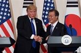 Les présidents américain et sud-coréen se rencontreront en marge de l'Assemblée générale de l'ONU