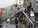 Japon: le typhon Jebi laisse au moins 9 morts et de nombreux dégâts
