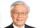 Le secrétaire général du PCV Nguyên Phu Trong part pour la Russie