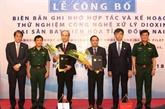 La technologie de traitement de la dioxine sera testée à l'aéroport de Biên Hoà