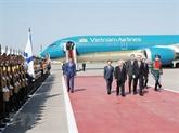 Le chef du PCV, Nguyên Phu Trong, entame une visite officielle en Russie