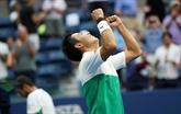 US Open: Nishikori de retour en demi-finale en battant Cilic