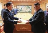 Kim Jong Un appelle à davantage d'efforts pour dénucléariser la péninsule coréenne