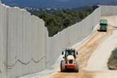 Israël construit un mur de plus, face au Hezbollah libanais