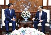 Le chef de l'État reçoit l'ambassadeur spécial Vietnam - Japon, Japon - Vietnam