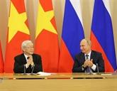 Le partenariat Vietnam - Russie n'a cessé d'être consolidé et développé
