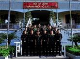 La délégation des jeunes officiers indiens à Hô Chi Minh-Ville
