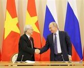 Déclaration commune Vietnam - Russie