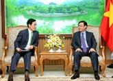 Le vice-Premier ministre Vuong Dinh Huê exprime son soutien à l'expansion du groupe Lotte