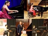 Des pianistes de 10 à 25 ans réunis à Hanoï pour un concours international
