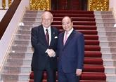 Le PM reçoit le conseiller spécial de l'Alliance parlementaire d'amitié Japon - Vietnam