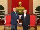 Belles perspectives des relations économiques Vietnam - Hongrie