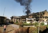 Irak: des manifestants mettent le feu au consulat d'Iran à Bassora