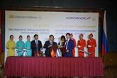 Célébration des 25 ans de l'ouverture de la ligne aérienne Vietnam - Russie