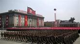 La RPDC tient son défilé militaire sans missiles balistiques