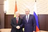 Les médias russes soulignent la signification de la visite du chef du PCV