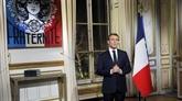 Nouvel An 2019: le président français forme trois vœux