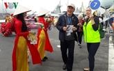 Plus de 2.000 croisiéristes arrivent à Dà Nang le premier jour de l'An