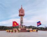 Inauguration d'un Monument d'amitié Vietnam - Cambodge