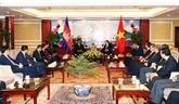 Hô Chi Minh-Ville veut renforcer la coopération avec des localités cambodgiennes