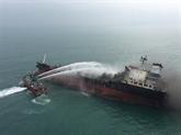Incendie de l'Aulac Fortune: 21 marins en état de santé stable