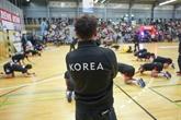 Une équipe coréenne