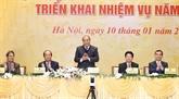Le PM demande au Bureau gouvernemental de contribuer à l'édification de l'e-gouvernement