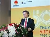 Vietnam - Suède: échange de messages de félicitations