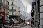Explosion à Paris: au moins 20 blessés