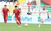 Asian Cup 2019: le Vietnam est dominé par l'Iran