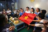 Des cadeaux du Têt pour les habitants et les soldats de Truong Sa