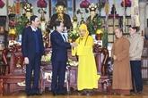 Visite des anciens dirigeants du Parti et de l'État