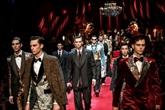 Élégance et strass pour Dolce et Gabbana