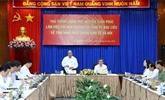 Le chef du gouvernement travaille avec les autorités de Bac Liêu