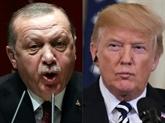Syrie: Trump menace de